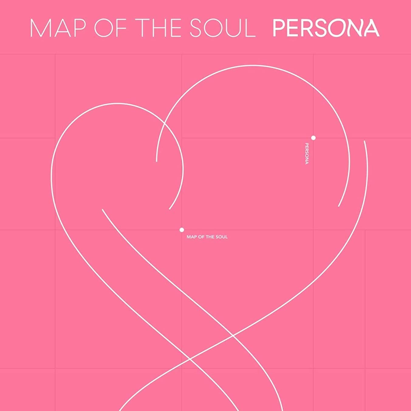 Bts BigHit MAP of The Soul : Persona CD+76p Photobook+20p Mini Book+1Photocard+1Postcard+1Photo Film+Folded Poster+Store Gift 8 Extra Photocards [4 ver.]