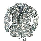 Mil-TEC blusón chaqueta, color Gris - diseño de píxeles, tamaño XXL
