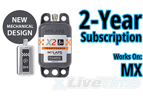 Best Review Of MyLaps X2 Transponder, Direct Power, for MX (Motocross), Includes 2-Year Subscription