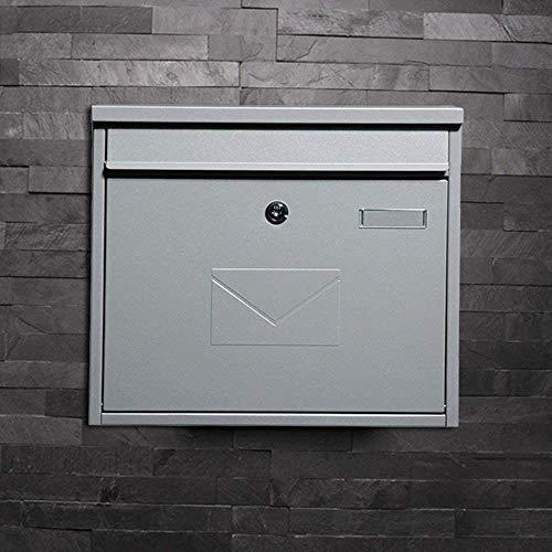 YONGYONGCHONG Brievenbus Brievenbus Villa in de buitenlucht Waterdichte muur plaats Letter Box Postbox Home Letter Box Postbox Block Beveiliging Postvak