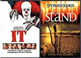 Good VS Evil end of the world The Stand Film Collection Stephen King's It DVD Movie Double Feature Chilling Master of Horror