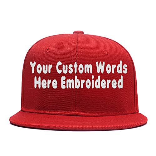 Eray Hip Hop Snapback Casquette,Embroidered.Custom Flat Bill Dance Plain Baseball Dad Hats