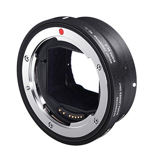 Sigma MC-11 Objektivadapter für Sigma-Objektiv mit Canon-EF-Anschluss an Sony-E-Mount-Kamera - z.B. für Sony Alpha a6500, a6300, a6000, a5100, a5000, a3500, a3000, a7S II, a7S, a7R II, a7R, a7 II, a7, NEX-7, NEX-6, NEX-5T, NEX-5R, NEX-5N, NEX-5, NEX-3N, NEX-F3, NEX-C3, NEX-3