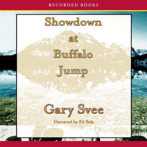Showdown at Buffalo Jump audiobook cover art