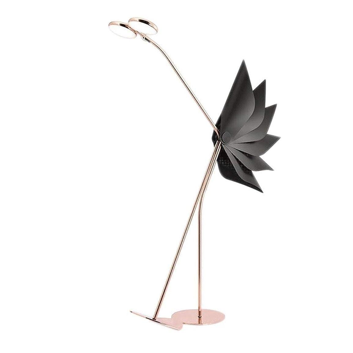 ホイップ専門腹部クリエイティブフロアランプ ミニマリストダチョウ形状錬鉄LEDフロアランプ、垂直フロアランプ、リビングルームベッドルームベッドサイド立ちライト ちらつきなし