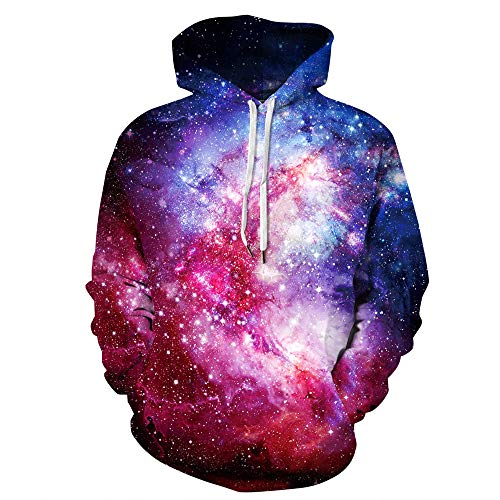 Unisexe 3D Starry Lion King Print Hoodie Sweat À Capuche Sweat Pullover