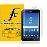 Forefront Hülles Gehärtetem Glas Bildschirmschutz Bildschirmschutzfolie für Samsung Galaxy Tab Active 2 8.0
