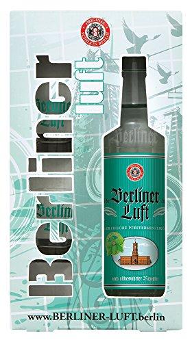 Berliner Luft Geschenkset Liköre mit 2 Gläsern (1 x 0.7 l)