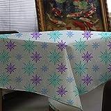 XXDD Mantel de celosía geométrica Mantel de impresión navideña Mantel de pañal decoración del hogar Cubierta de la Chimenea Mantel Cubierta de Tela A11 135x200cm
