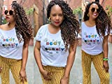 6 Packs Curly Faux Locs Crochet Hair 18 Inch New Goddess Locs Crochet Hair Ombre Brwon Pre Looped Boho Hippie Synthetic Braids For Black Women Hair Extensions(18 Inch,6 Packs,T1B/30)…