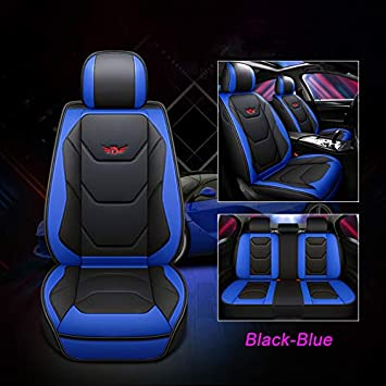 Deluxe Car Seat Cover 5-Sit Universal Full Surround Comfortable Cushion Full Set
