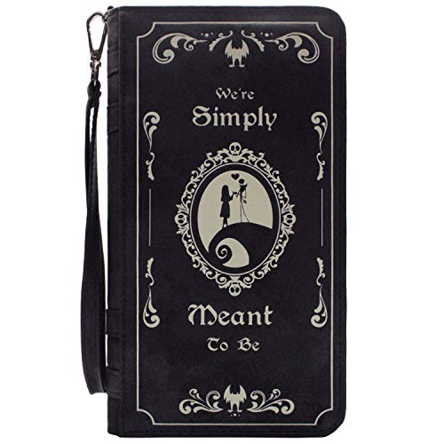 Cartera de Nightmare Before Christmas We're Simply Meant To Be Negro