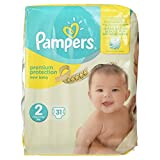 Pampers New Baby Couches 3-6 kg Taille 2 31 Pièces