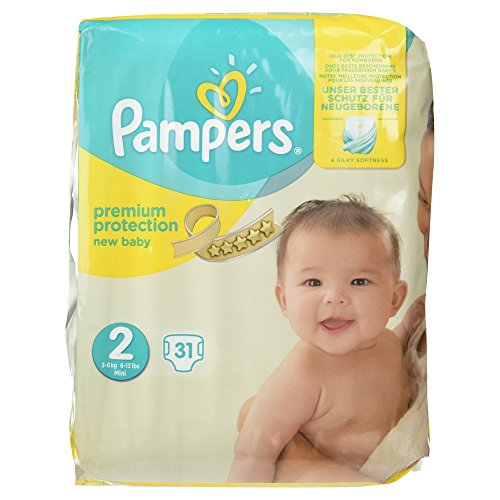 Pampers Premium Protection Windeln, Gr. 2, 31 Windeln