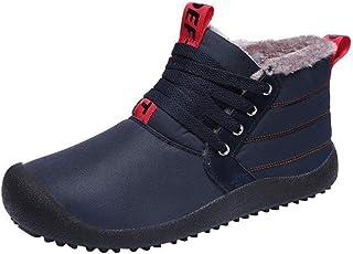 Homme Chaussures d'hiver Imperméable Bottes Chaud Fourrées Bottes de Neige Hiver Bottines Outdoor Confort Baskets Sneakers...