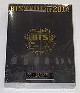 BTS - BTS MEMORIES OF 2014 DVD [3 Discs + 100p Photobook + Folded Poster] + Extra Gift Photocards Set