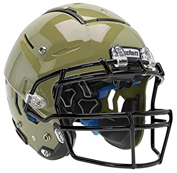 Schutt Sports F7 LX1 Youth Football Helmet  Facemask NOT Included  Metallic Vegas Gold Large
