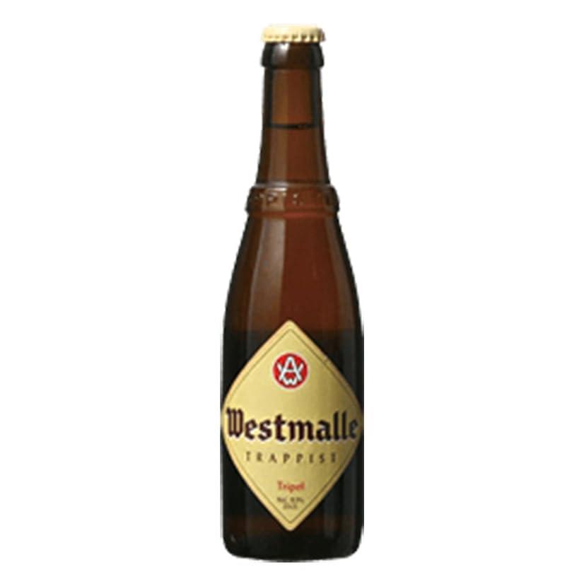 スポーツをする香ばしいチャネルウエストマール トリプル 9.5度 330ml 24本セット(1ケース) 瓶 ベルギー ビール [並行輸入品]