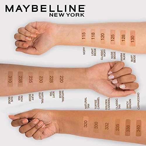 MAYBELLINE(メイベリン)フィットミーリキッドファンデーションR120標準的な肌色(イエロー系)30ミリリットル(x1)