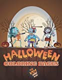 Halloween Coloring Book for Kids: Cute Spooky and Scary Things Like Jack-o-Lanterns Ghosts Witches Haunted Houses Monsters Grave and More Stress Relief and Relaxation Awesome Gift Idea for Men Women