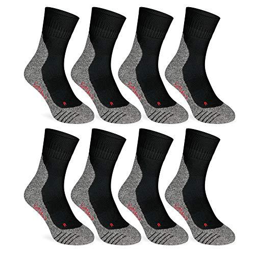 Coolmax® Chaussettes de sport Quarter (2 à 8 paires) pour homme et femme
