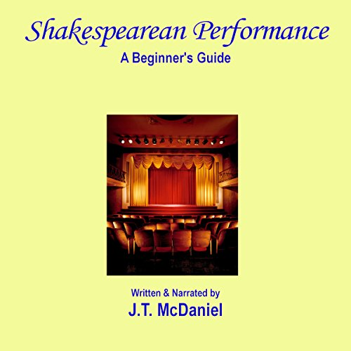 Shakespearean Performance: A Beginner's Guide audiobook cover art