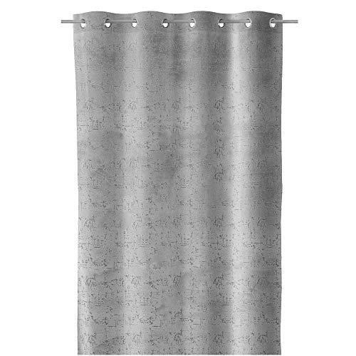 Zen et Ethnique Bliss Vorhang, Velours, 140 x 260 cm