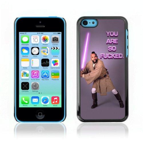 CelebrityCase Polycarbonate Hard Back Case Cover for Apple iPhone 5C ( Mr. T Star Wars Funny LOL )