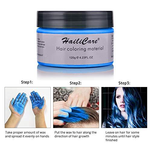 4 Colors Temporary Hair Dye Wax - 4...