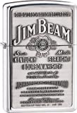 Zippo Jim Beam Pewter Emblema.