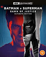 Batman V Superman: Dawn Of Justice Remastered [4K Ultra HD] [Blu-ray] [2016] [Region Free]