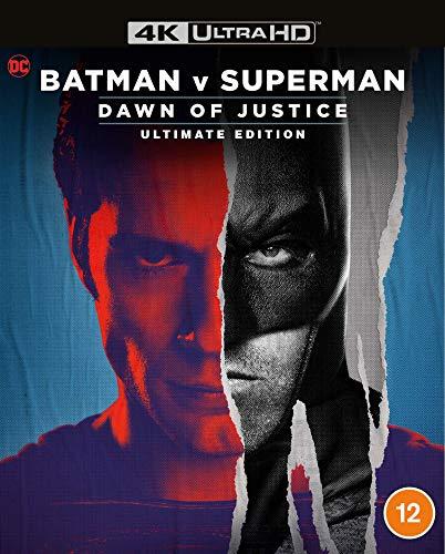 Batman V Superman: Dawn Of Justice Remastered [4K Ultra HD] [Blu-ray] [2016]...