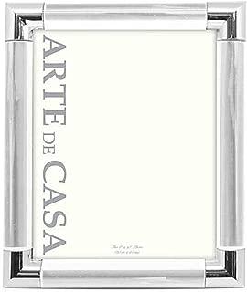 Arte de Casa Palermo 8-Inch x 10-Inch Picture Frame in Silver