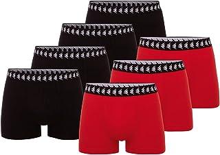 Kappa Men's Zid 7 Boxer Shorts, Flame Scarlett, One Size
