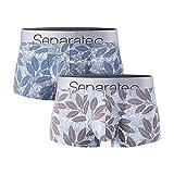 Separatec Men's Underwear Comfy soft Cotton...