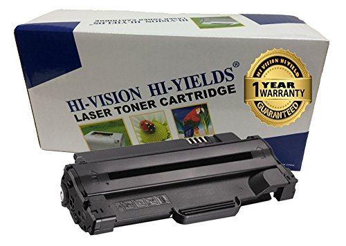 HI-Vision Compatible High Yield Black Toner Cartridge Replacement for Dell 330-9523 (7H53W) Work with 1130 1130n 1133 1135 1135n Printer (1-Pack, Black)