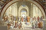 Raphael: Die Schule von Athen. Fine Art Print/Poster.