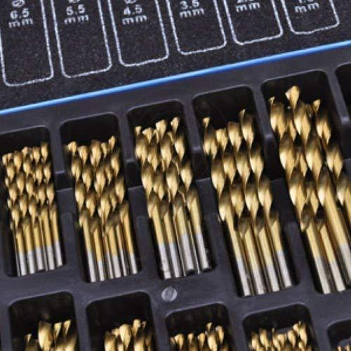 170-teilig Cobalt Edelstahlbohrer Set (HSS-Co / Inox ) HSS Metall - Konzipiert für Edelstahl