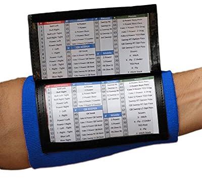 Playbook Wristband - Wrist Coach x200(Adult) 10 Pack (Royal)