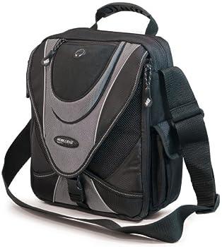 Mobile Edge MEMMS2 Mini Messenger Bag  Black/Silver