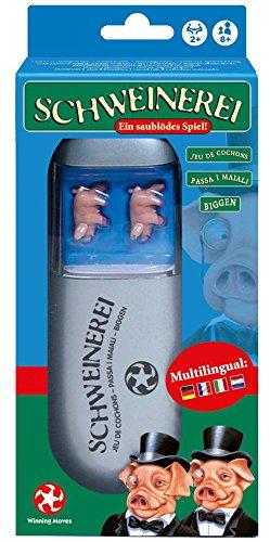 Schweinerei - Das Party-Würfel-Spiel, ein spaßiges Spiel für die Reise