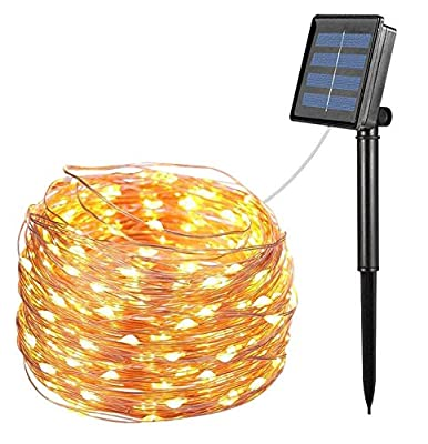 Solar String Lights Outdoor, 72Ft 200 Waterproof LED String Lights for Garden Patio Yard Party Wedding Indoor Outdoor Decoration Warm White