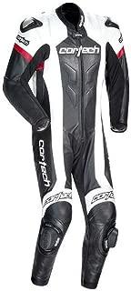 Cortech Adrenaline Leather RR Motorcycle Suits - Black - Large