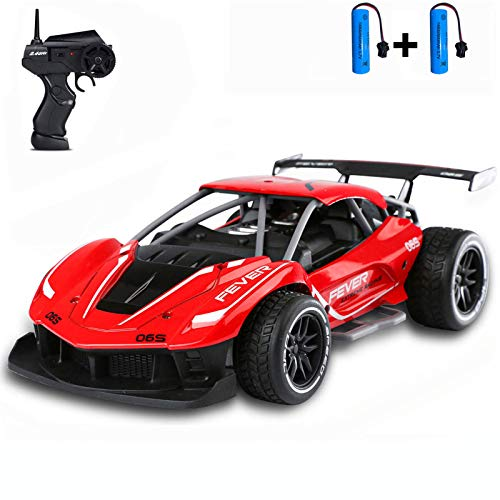 SZJJX Remote Control Car for 4-12 Years Old Boys, 1/16 Fast Electric RC Racing Cars 2.4GHz 15KM/H High Speed Race Car Off Road RC Drift Car Vehicle Toys for Kids Gift