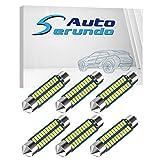 578 Led Car Bulb 211-2 Led Car Bulb 41mm 42mm 1.65in 212-2 Led Car Bulb for Car Map Light Dome Light, 22SMD 3014 Chips 6000k White Super Bright Interior Led Car Bulb,Pack of 6pcs