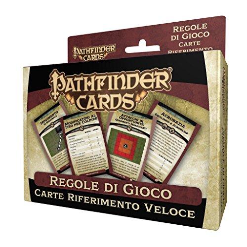 Giochi Uniti- Pathfinder Carte di Riferimento Veloce, GU550