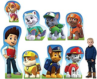 Paw Patrol Character Set Cardboard Cutout Standup Photo Op Prop Backdrop Party Supplies Decorations