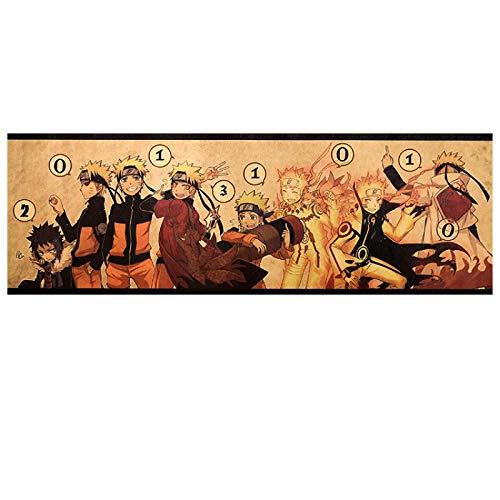 Greneric Anime Ninja Mar Rache Alten d'Ite, papel póster decorativo para dormitorio, 20 72 x 23 Shadow Ninja Z