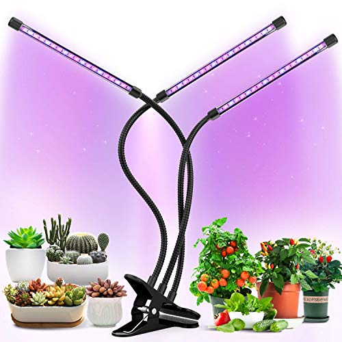 Grow Lights Plant Light for Indoor Plants Lamps Auto ON/Off Timer