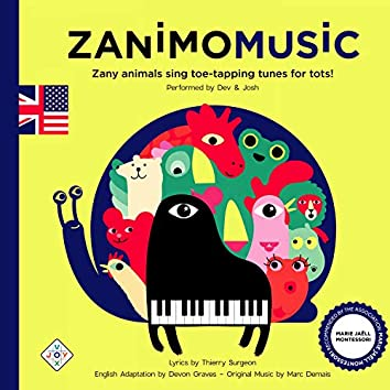Zanimomusic - Zany Animals Sing Toe-Tapping Tunes for Tots!